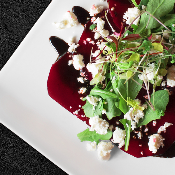 Beet Carpaccio - Ginger Restaurant