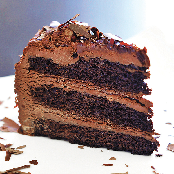 Old Fashioned Chocolate Cake - Ginger Restaurant