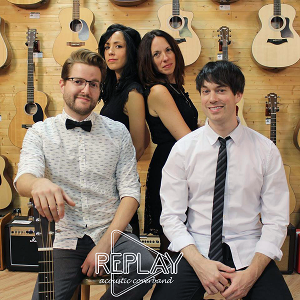 Photo de Replay Acoustic Coverband