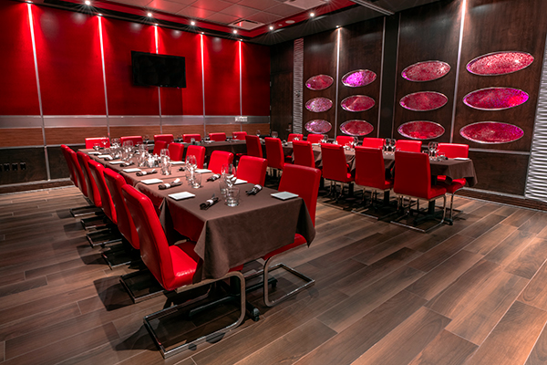 Private Lounges for Wedings at restaurant Ginger